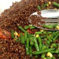 quinoa & ingredients