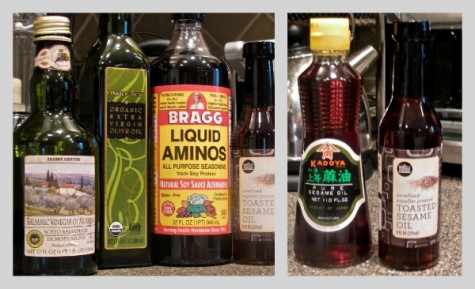 Trader Joe's has GREAT olive oil & vinegars at terrific prices. It carries a 5-oz. bottle of toasted sesame oil for $2.29.  Whole Foods has it too (8-oz., $3.39). But my favorite brand is Kadoya, from Japan (11 oz., $4.29); sold at Asian markets.