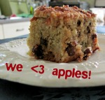 Post image for Recipe for gluten-free apple raisin squares