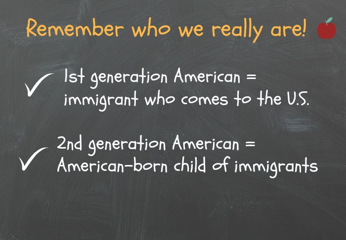 Who is first- and second-generation American?