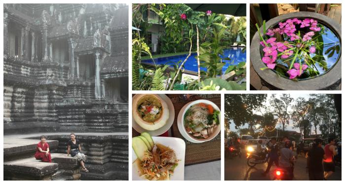 Siem Reap, Cambodia, a tourism hot spot