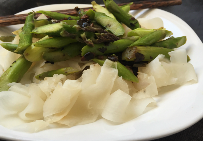 How to make daikon noodles for good health