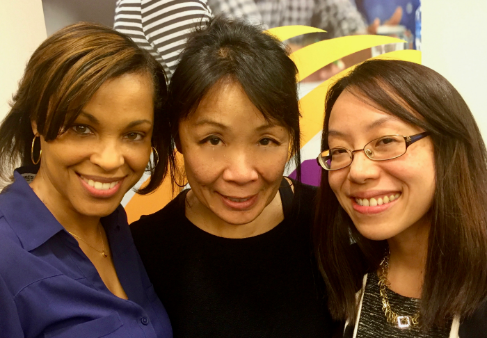 Coach Diversity Institute president Towanna Freeman & senior vp Gloria S. Chan