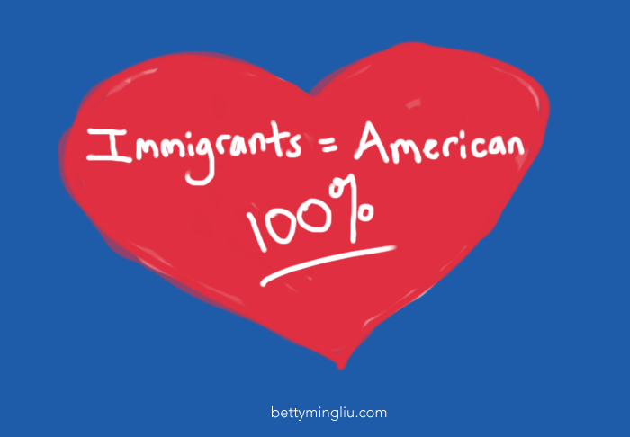 Immigrants are 100% American